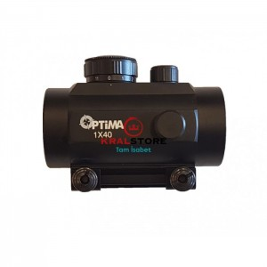 Optima 1x40 Hedef Noktalayıcı Red Dot (22mm)